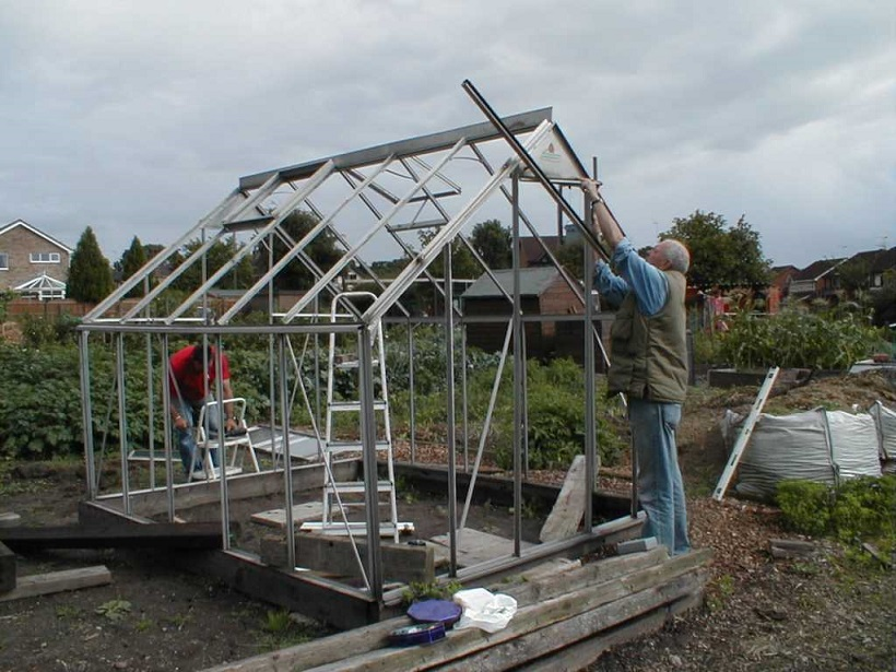 Greenhouse assembly
