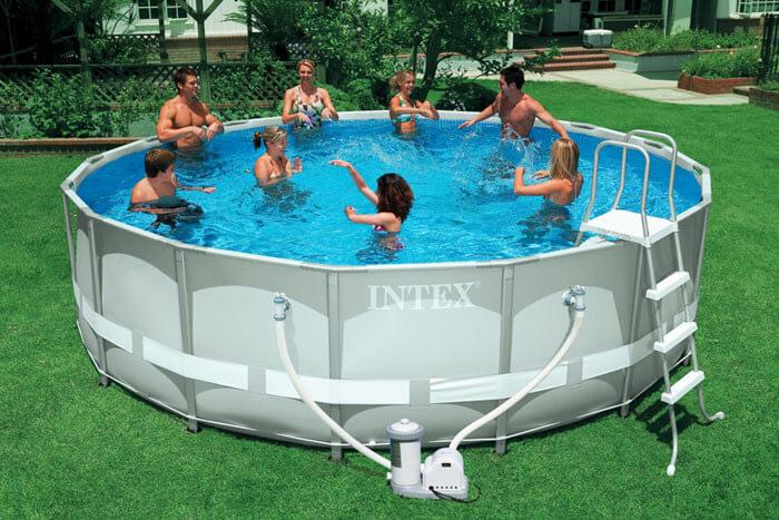 Intex Pool Disassembly