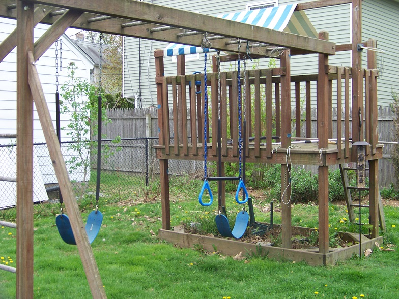 Swing Set Disassembly